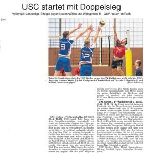USC startet mit Doppelsieg