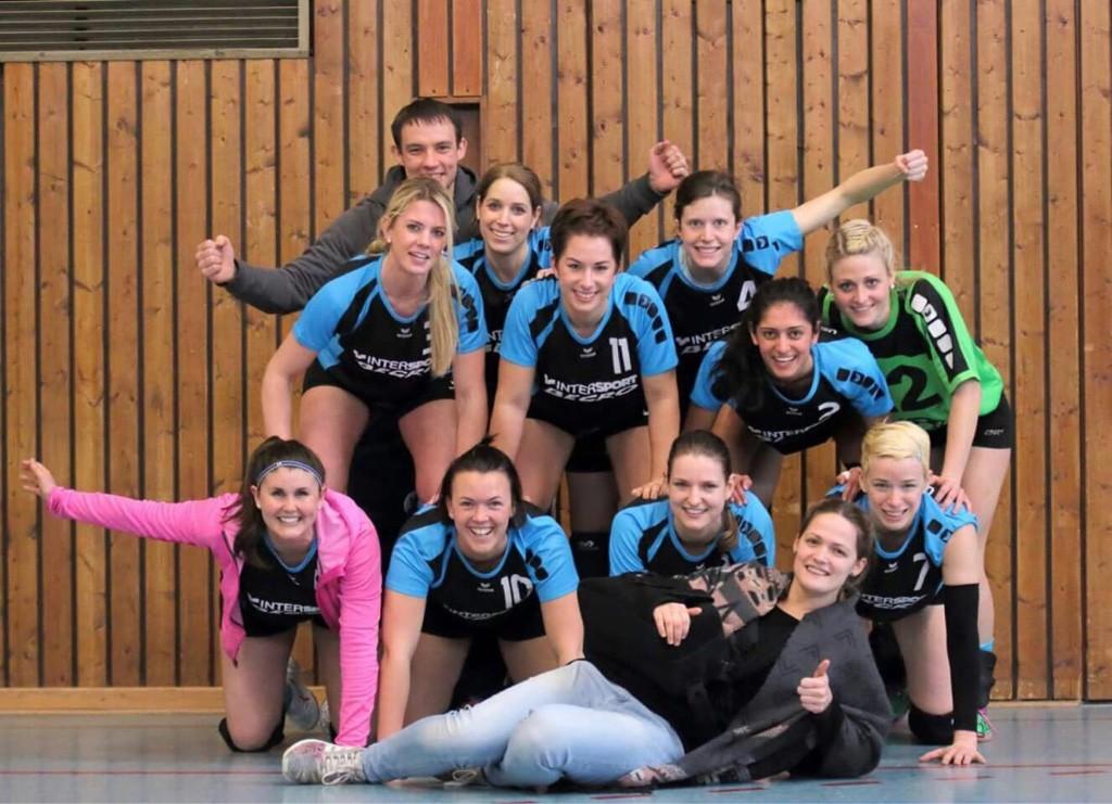 Damen1 beim Sieg in Wetzlar